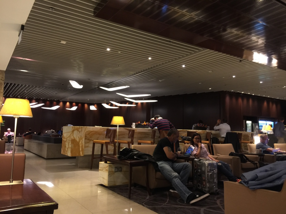 2015 Europe Trip: Checking in at Changi Airport & SilverKris Lounge (4/6)