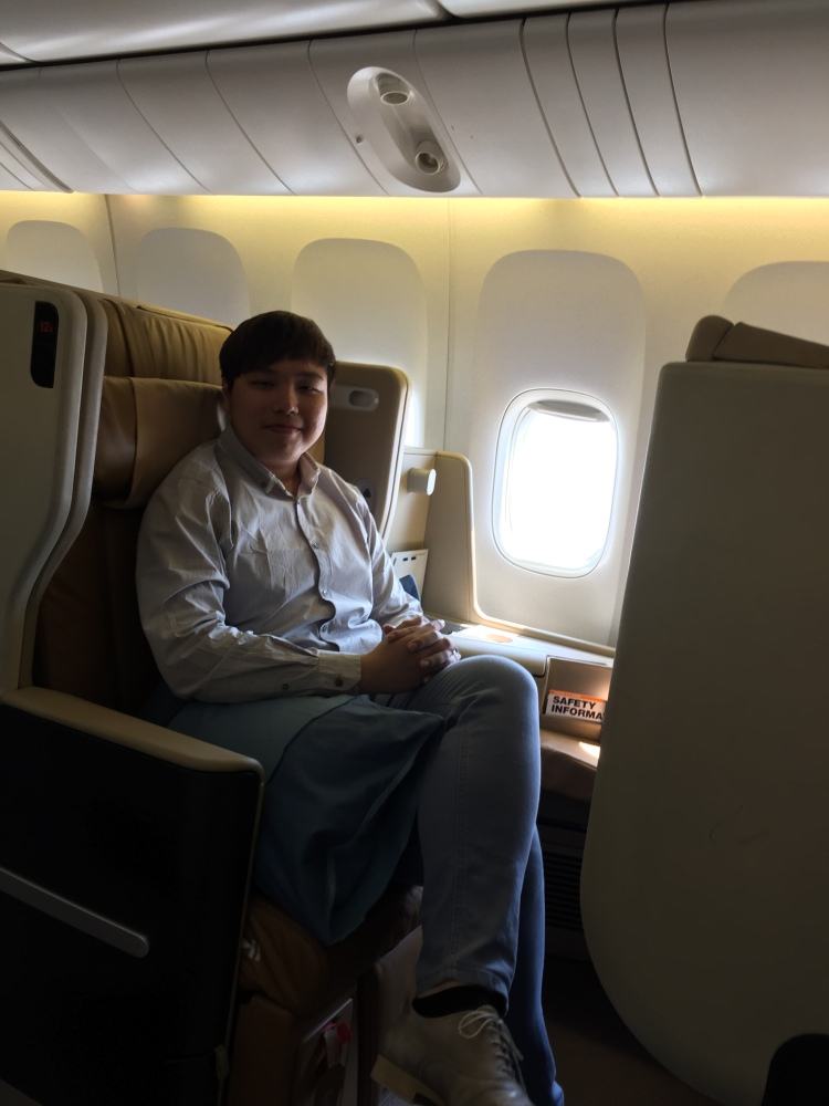 2015 Europe Trip: Singapore Airlines 392 777-200 SIN - IST Business Class (2/6)