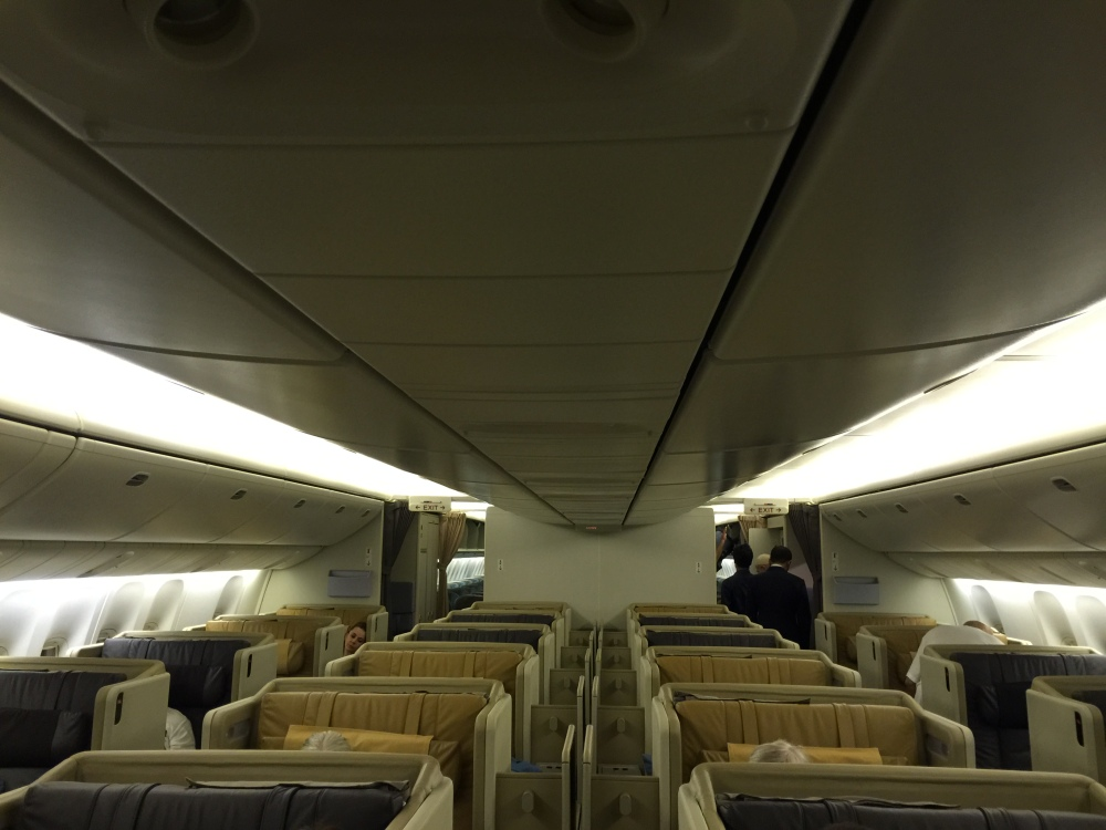 2015 Europe Trip: Singapore Airlines 392 777-200 SIN - IST Business Class (1/6)