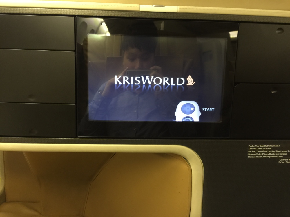 2015 Europe Trip: Singapore Airlines 392 777-200 SIN - IST Business Class (3/6)