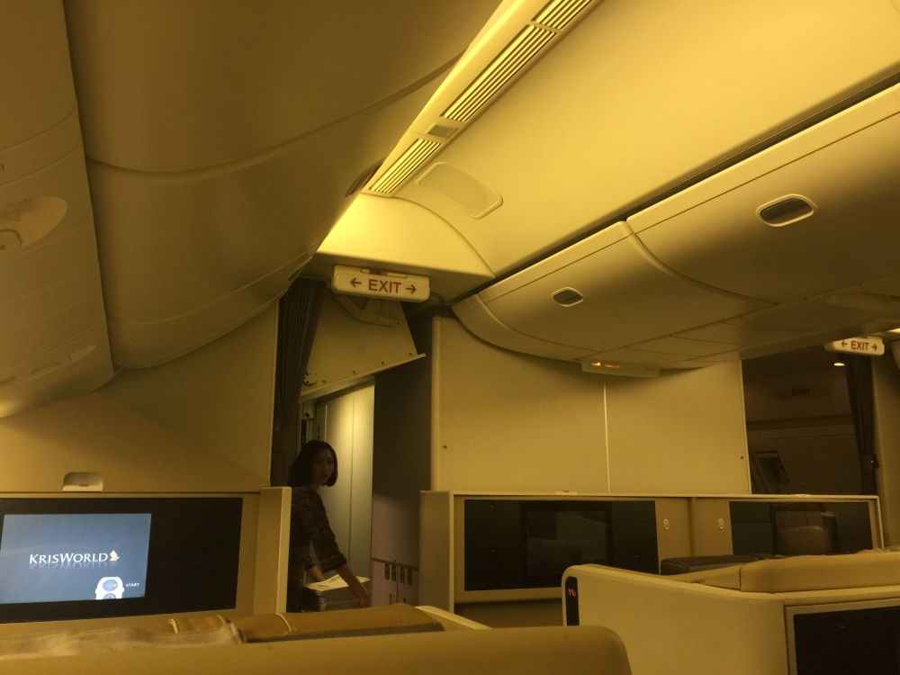 2015 Europe Trip: Singapore Airlines 392 777-200 SIN - IST Business Class (4/6)