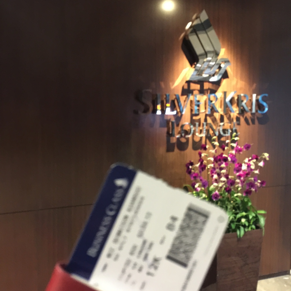 2015 HongKong Trip: Krisflyer Service, Flight Delay and Changi Airport SilverKris Lounge (1/6)