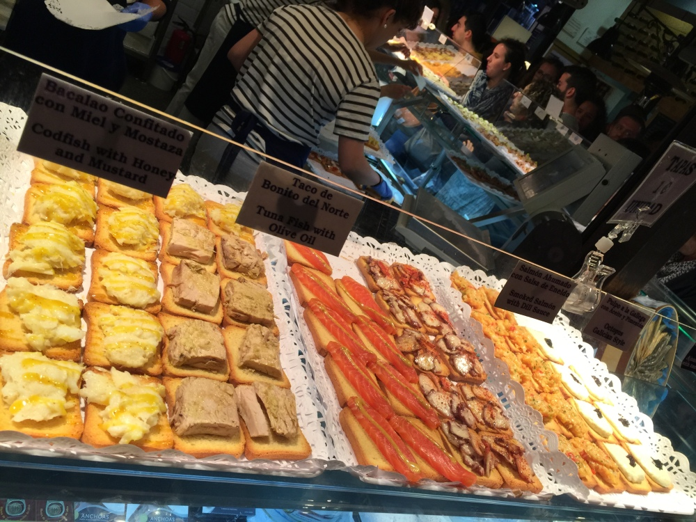 2015 Europe Trip:Eating in Madrid (5/5)