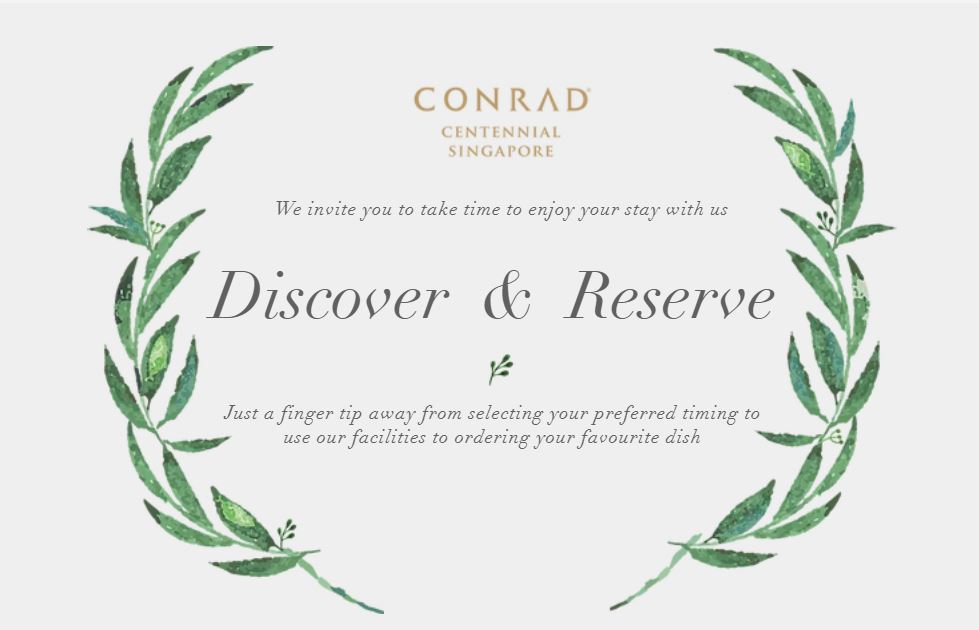 Conrad Welcome Email